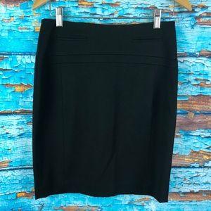 Express Black Size 2 Straight Pencil Skirt